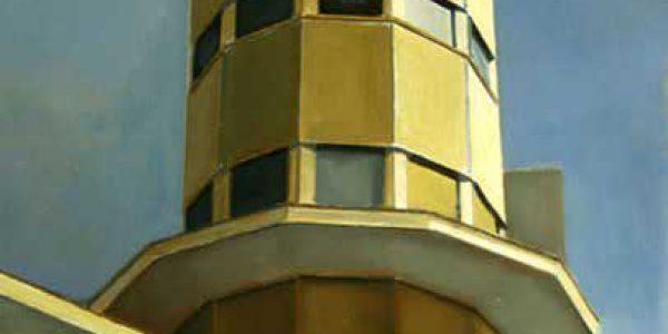 Casa del Barco. 2005. Óleo sobre tabla. 40 x 30 cm.